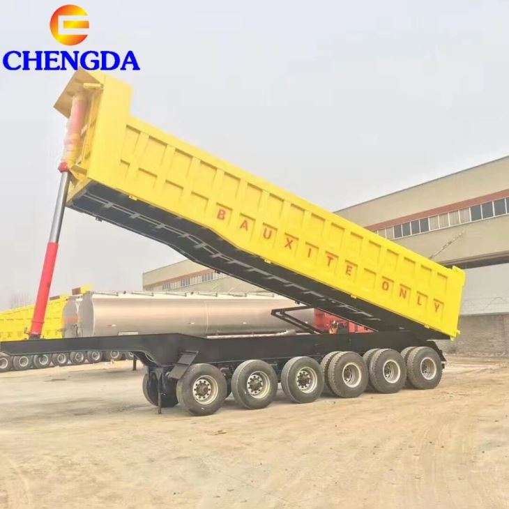 45CBM 6 Axles Dump Trailer
