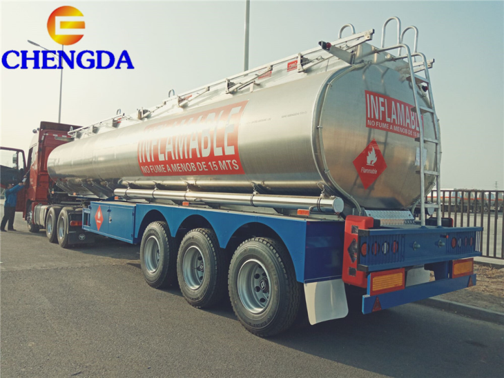China Best Price Aluminum Fuel Tanker For Sale