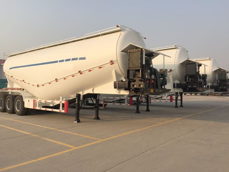 China Manufacture Bulk Cement Tanker Bulker Semi Trailer For Sale