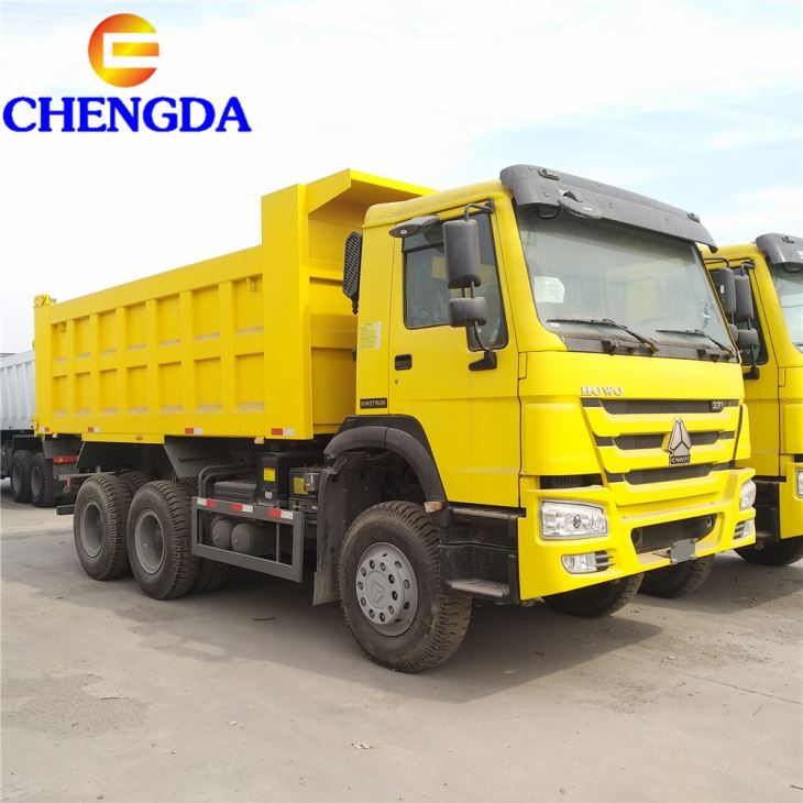 China SINOTRUK HOWO 19M3 6X4 Cheap 336HP 371hp 10 Wheeler Commercial Sand Gravel Dump Tipper Truck