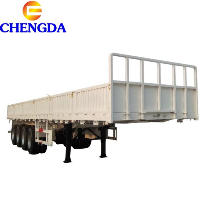 Detachable Side Wall Cargo/Container Semi Trailer