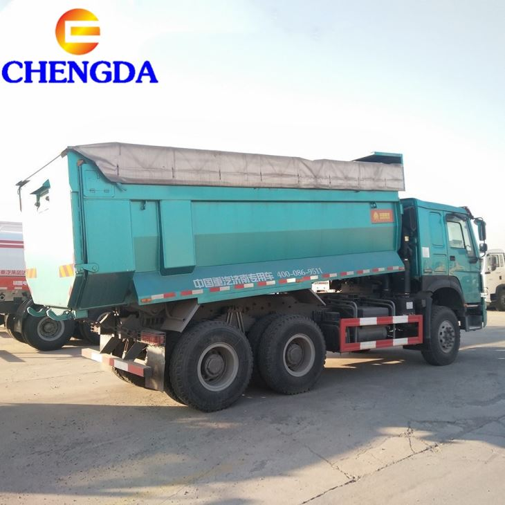 Howo 10 Wheelers Dump Truck Price