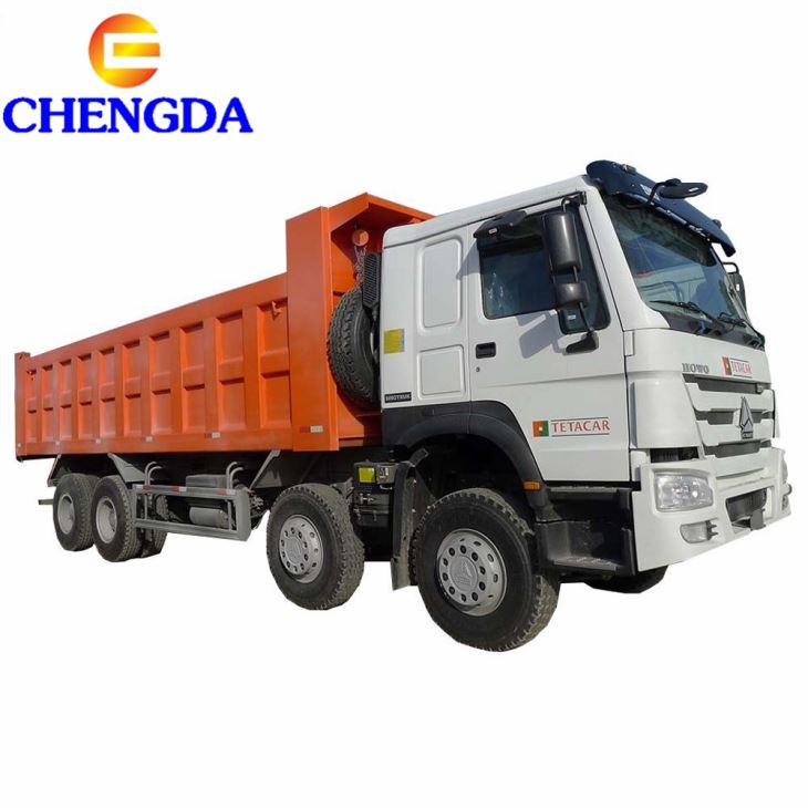 HOWO 12 Wheel 40 Tons Dump Truck Capacity