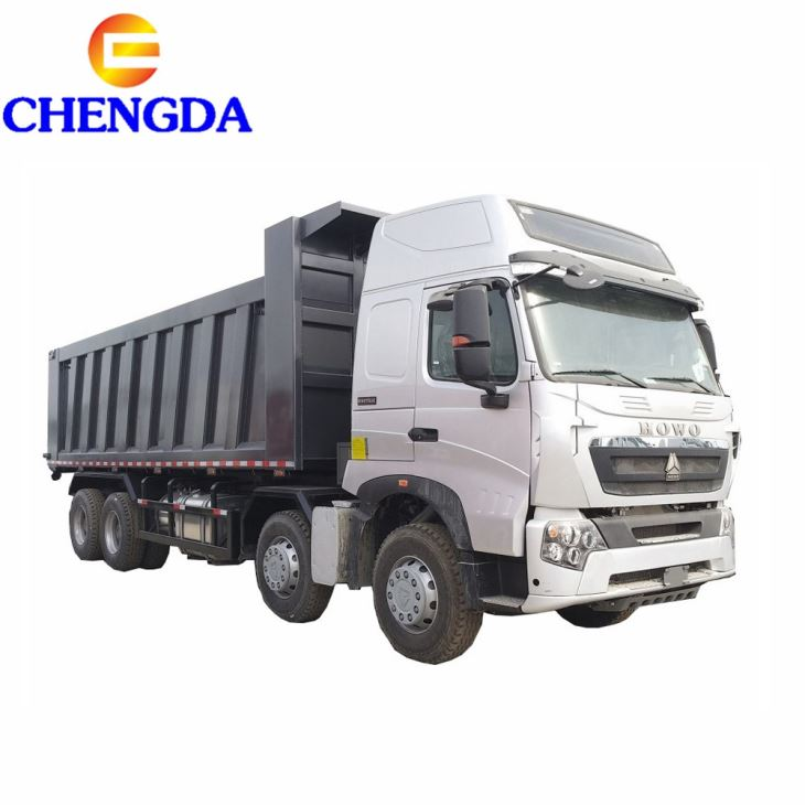 Howo A7 60 Ton Heavy Dump Truck For Philippines