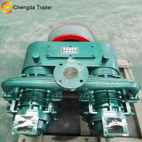 10CBM 12CBM 14CBM Bulk Cement Trailer Air Compressors