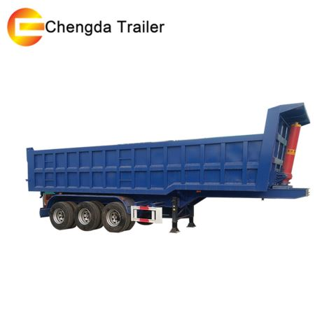 3 Axle Dump Trailer 40ton 50ton 60ton In Philippines
