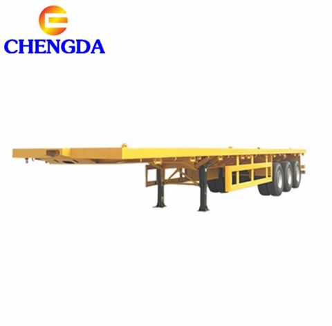 40 Feet China Cheap Flatbed Container Semi Trailer