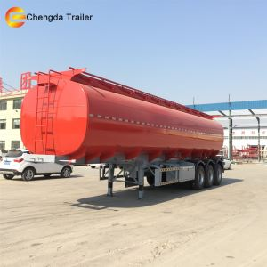 42000liters Air Bag Aluminum Fuel Tank Trailer