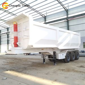 60ton 3 Axles Back Tipper Trailer