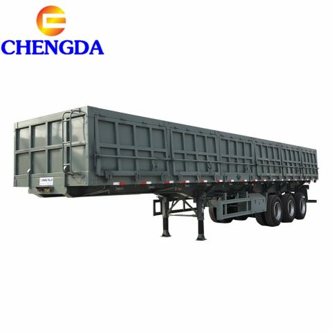 60ton 40m3 Side Tipper Trailer