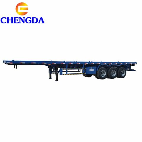 Box Loader Container Flatbed Trailer Sales In Dubai