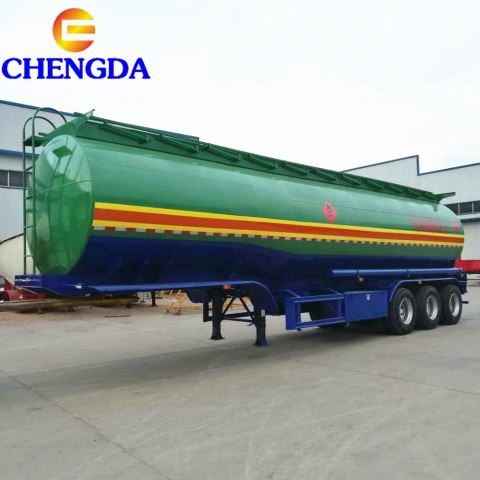 Chengda 3axles 45cbm 60cbm Fuel Tank Semi Trailer For Africa