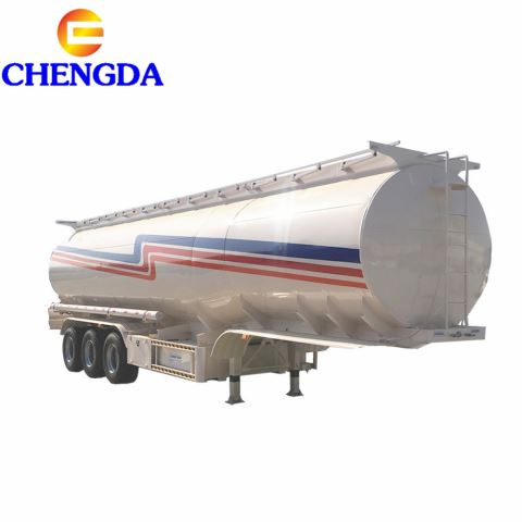 Chengda Brand New 12 Wheels 60000 Liters Oil/Fuel Tank Semi Trailer