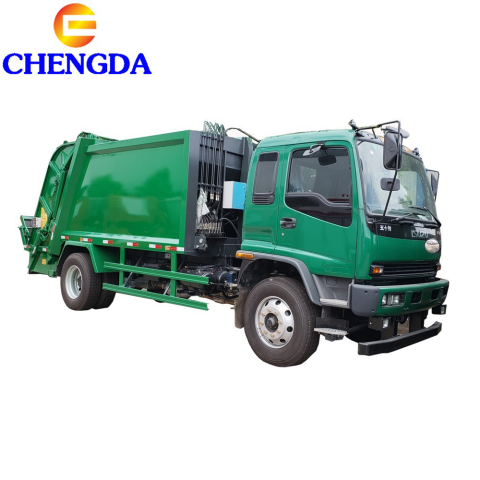 China Factory 10 Ton 240HP ISUZU GARBAGE Compactpr TRUCK