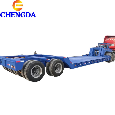 Detachable Goose Neck Lowbed Trailer