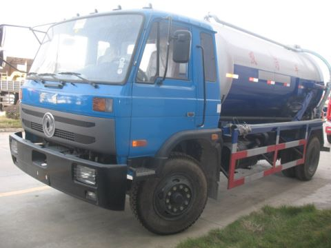 DongFeng 4x2 190PS Sewage Suction Truck 10000L