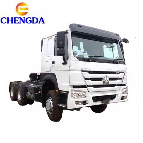 Good Condition Used Sinotruk HOWO Horse Tractor Truck For African Market
