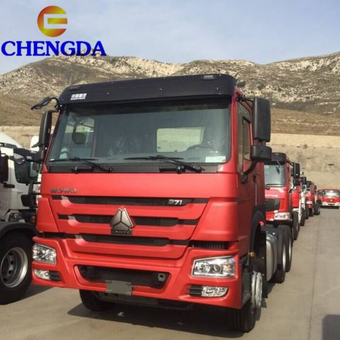 HOWO 10 Wheeler Used Tractor Truck For Sale