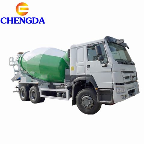 Sinotruck Howo 10 M3 Concrete Mixer Truck In Stock For Sale