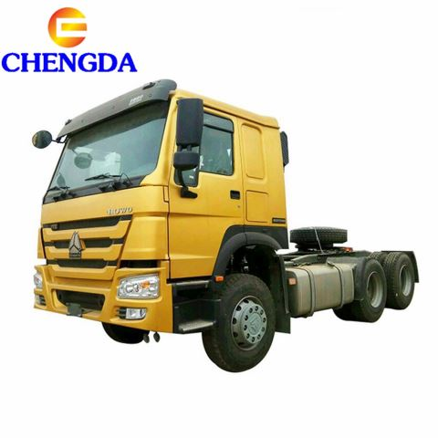 Sinotruck Howo Tractor Truck Hot Sale With Mechanical Suspension