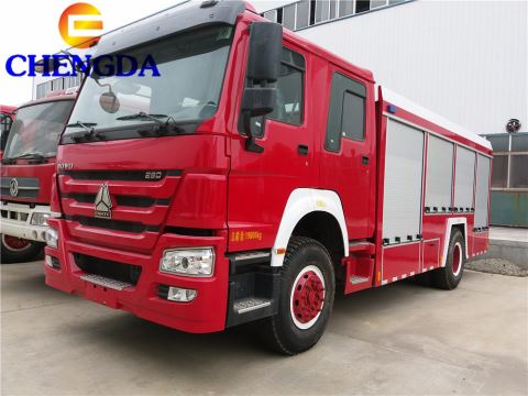 Sinotruk Howo 6*4 336hp 371hp Water Tanker Fire Fighting Truck