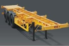 The 40ft Skeleton Semi Trailer Container Chassis Trailer For Sale