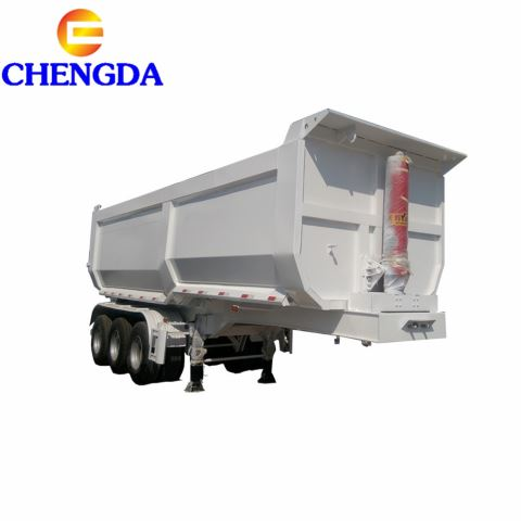 U Shape Heavy Duty Tipping/Tipper/Dumper/Dump Truck Semi Trailer For Sand/Stone/Coal/Mineral Transport