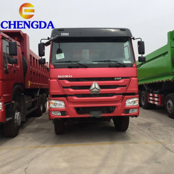 The Used Sinotruck Howo 375hp 6x4 10wheels Dump Truck Second Hand Tipper Truck