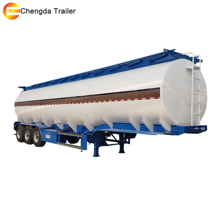 Tri-axle Fuel /oil/ Water Tank Semi Trailer For Sale