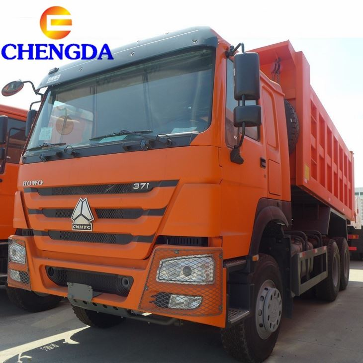 Used Second Hand 6X4 HOWO Tipper Truck