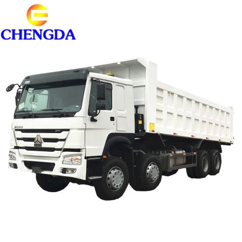 Low Price Sinotruk Howo 8x4 12 Wheels Tipper Truck