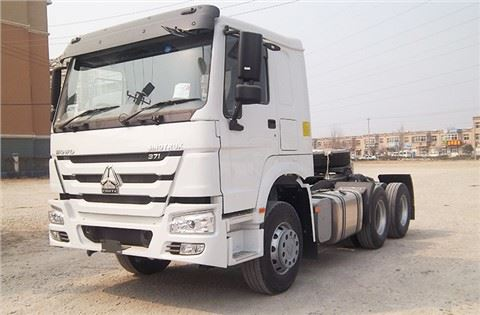 Sinotruck Howo 6x4 371 HP Tractor Truck For Sale