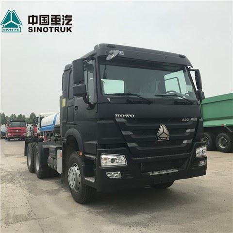 New A7 6*4 371 380 Horse Power SINOTRUK HOWO Head Tractor Truck